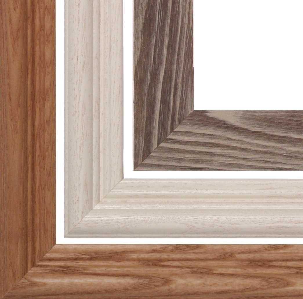 14x18 Victorian TULIPS Stained Art Glass  Framed Wall Suncatcher