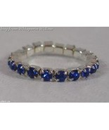 Colorful Blue Crystal Toe Ring - $8.99