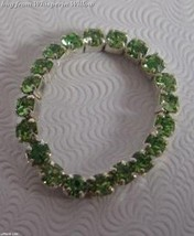 Colorful Green Crystal Toe Ring - $8.99