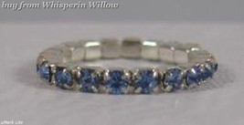 Colorful Light Blue Crystal Toe Ring - $8.99