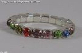 Colorful Multi-Color Crystal Toe Ring image 4