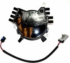 OptiSpark Spline Drive Distributor & Spark Plug wires & Wiring Harness For Chevy image 2