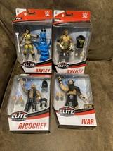 WWE Elite Series 80 & Ricochet, Ivar, Kyle O'Reilly, Bayley lot Of 4 Wrestlers - $103.95