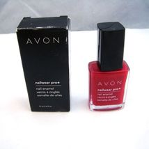 "Avon Nailwear Pro+ Nail Enamel ""Red Reveal"" - $4.25"