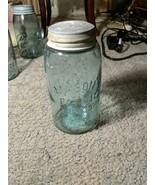 Antique Vintage Atlas Mason's Patent Nov 30th 1858 Quart Jar - $19.80