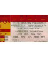 ENGELBERT HUMPERDINCK The Orleans 2006 Ticket Stub - $4.95