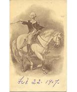General George Washington Vintage 1906 Post Card  - $7.00