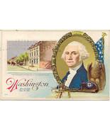 Washington Presidential House 1917 Vintage Post Card  - $7.00