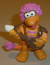 """Vintage FRAGGLE ROCK GOBO with Guitar PVC figure 2.25"""", 1983 Applause - $31.99"""