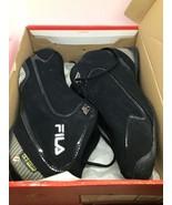 Fila Sport Rimshot size 10 Black and Silver Mens - $54.45