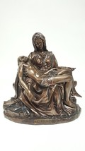 The Pieta Michelangelo Inspired Jesus and Mary Statue 10.5 Inches Collectible - $71.28