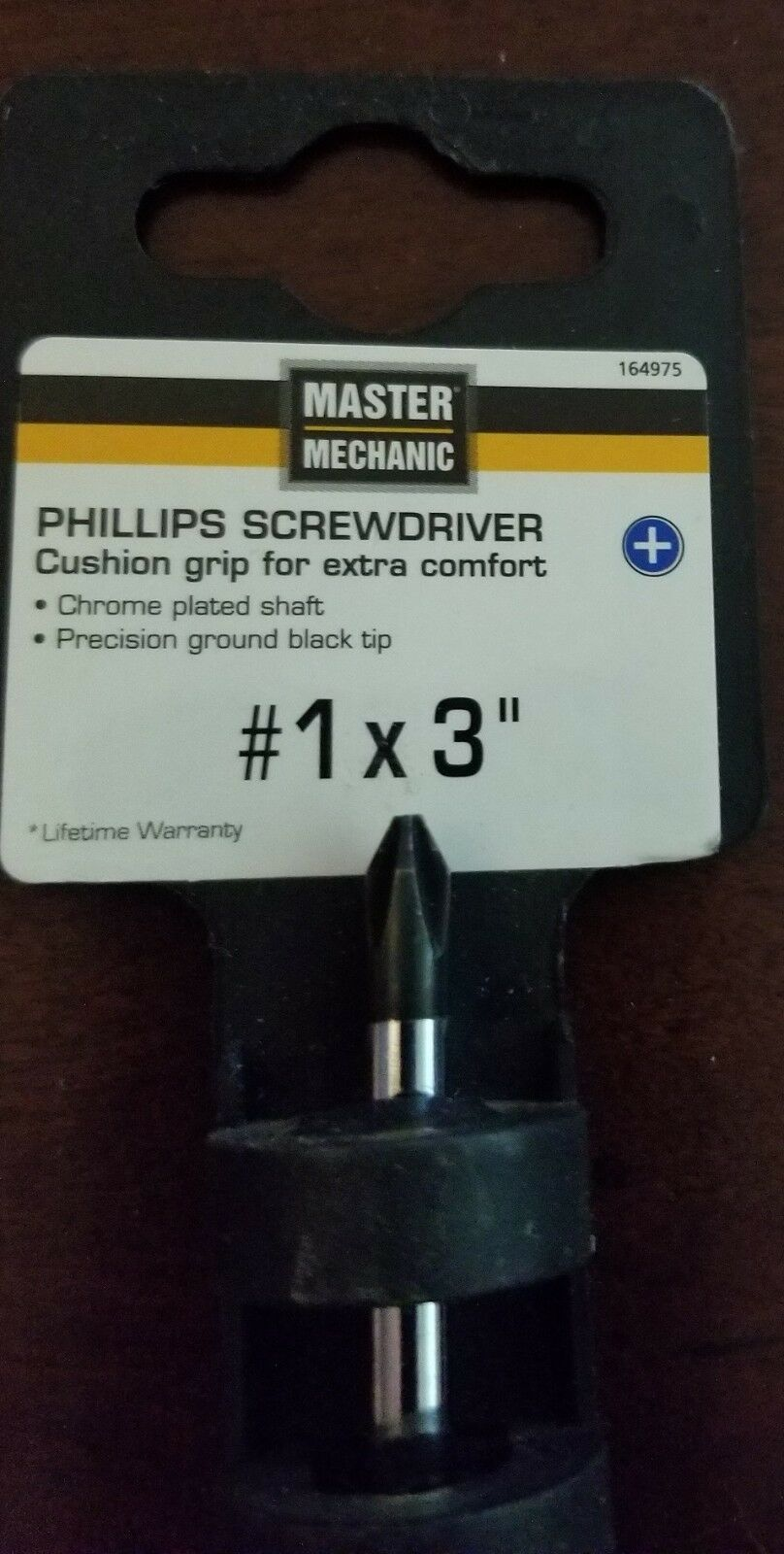 Primary image for MM #1x3 Screwdriver 164975 Master Mechanic