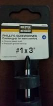 MM #1x3 Screwdriver 164975 Master Mechanic - $5.69