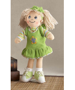 "Adorable Apple Dumplin' Cloth 14"" Doll by Delto... - $26.47 CAD"