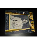 Sheet Music Deep Night Rudy Vallee Charlie Henderson 1929 Yellen Bornste... - $8.99