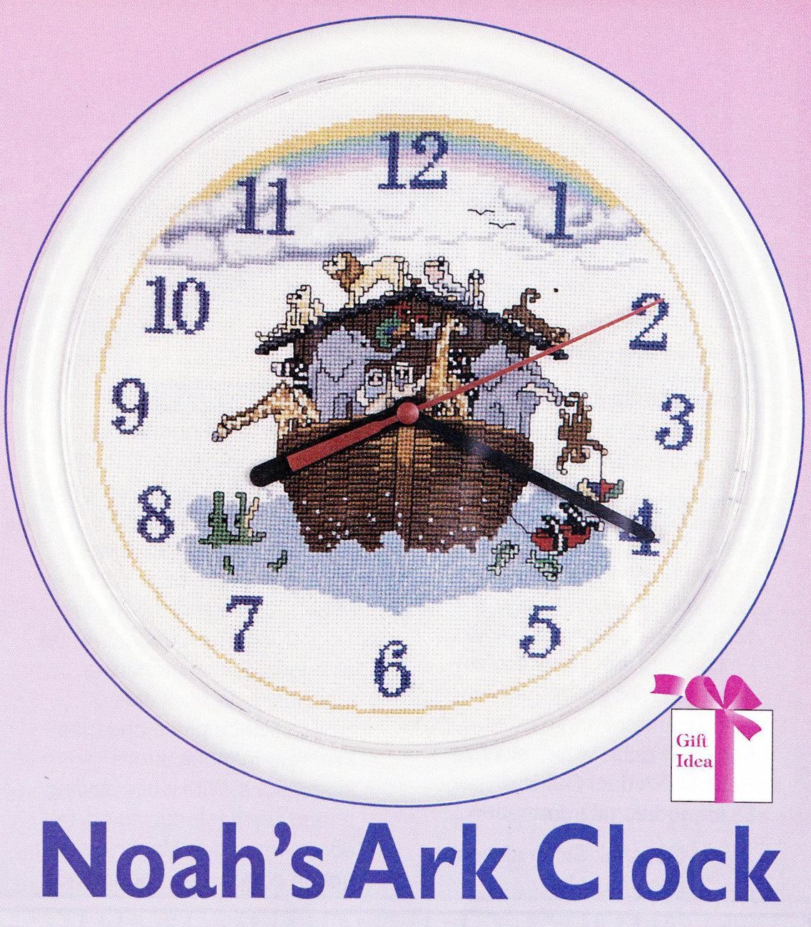THE CROSS STITCHER VOL.1, NO.2 CAT MONTAGE NOAH'S ARK CLOCK QUILT AFGHAN SANTA