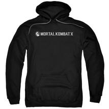 Mortal Kombat X - Horizontal Logo Adult Pull Over Hoodie Officially Lice... - $34.99+