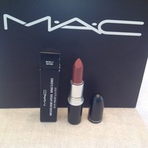 AUTHENTIC MAC AMPLIFIED CREME ROYALLY RIOTOUS LIPSTICK, FULL SIZE & NEW ... - $20.00