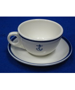 U.S Navy Anchor Pattern Wardroom China - Formal Coffee/Tea C - $29.00