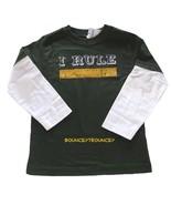 NWT Gymboree Active Tee Boy Long Sleeve ' I Rule ' School To - $9.99