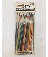 Vintage Royal Brand 20-Count Artist Paint Brushes 1 2 3 4 New NOS NIP Ja... - $14.95