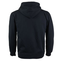 Men's Cotton Blend Zip Up Drawstring Fleece Lined Sport Gym Sweater Hoodie image 3