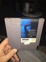Total Recall Nintendo NES Game Cartridge Cart Original Arnold Schwarzene... - $6.89