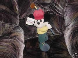 "15"" Disney GOLFER MICKEY and Golf Club Plush Toy With Tags - $24.74"