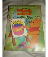 Vtg 1985 Walt Disney's WINNIE THE POOH ABC FUN Color Activity Coloring Book - $8.00