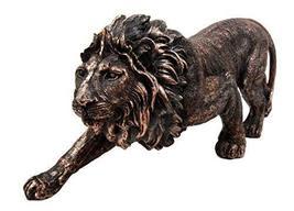 Atlantic Collectibles Apex King of The Jungle Aslan Lion Decorative Figu... - $25.69