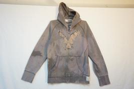 American Eagle Heavy Full-Zip Hoodie, Tie Dye, Men's Medium 8546 - $22.62
