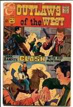 Outlaws Of The West #75 1969-Charlton-Capt Doom--Kid Montana-G - $18.92