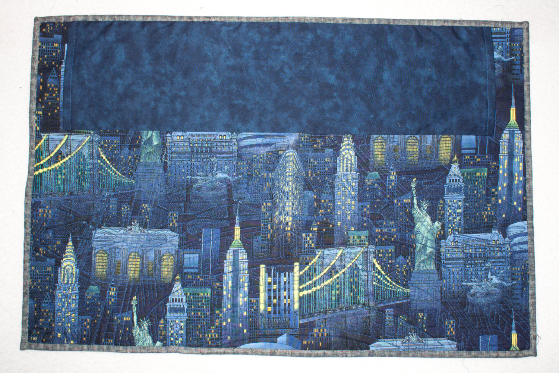 George Washington Bridge ~ Art Quilt