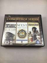 The Conqueror Series PC Computer 3-game 8-cd Set by Ubisoft Windows 2000/XP - $10.39