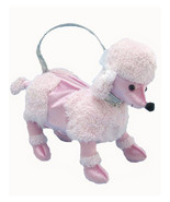 Forum Novelties 1950's Sock Hop Pink Poodle Dog Costume Handbag Purse - $32.16