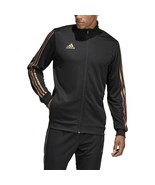 Adidas  Men's Soccer Tiro Track Jacket Black-Nude Pearl Essence DZ8784 - $33.00