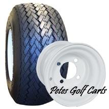 Golf Cart Tire and Wheel Combo 8x7 Steel Wheel 18x8.5-8 Tire - $52.99