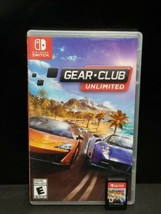 Gear.Club Unlimited (Nintendo Switch, 2017) - $27.71