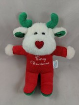 "Carters Merry Christmas Reindeer Moose Plush Rattle Terry8"" Stuffed Animal - $29.95"