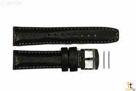 Luminox 7251.BO 20mm Ladies Black Leather Watch Band Strap w/ 2 Pins 7251 - $61.15