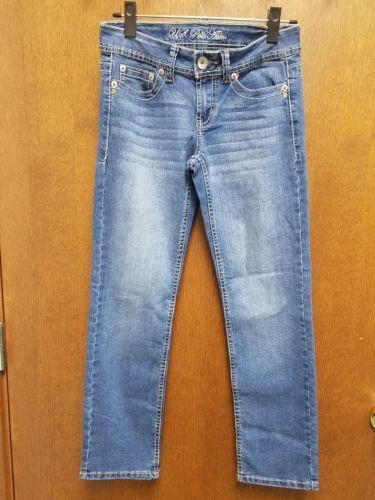 U. S. POLO ASSN WOMEN'S JEANS PANTS Size short 3/4 RN98826