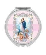 Our Lady of Immaculate Conception : Gift Compact Mirror Catholic Virgin ... - £9.44 GBP