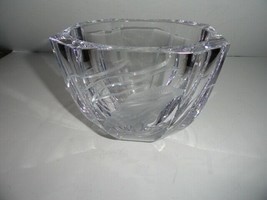 Faberge World of Water Crystal Bowl - $745.00