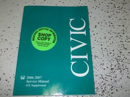 2006 2007 Honda Civic GX Service Shop Repair Manual Supplement BOOK OEM ... - $14.80