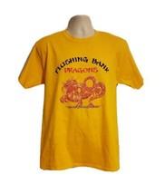 2017 Hong Kong Dragon Boat Festival Adult Medium Yellow T-Shirt - $19.80