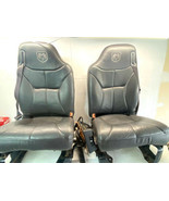 98-02 Dodge Ram Leather Power Seats Front & Rear Complete Charcoal  OEM - $2,199.99