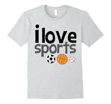 Your Shirt--I Love Sports - I Play All Sports Basketball Soccer Tshirt Men - $17.95+