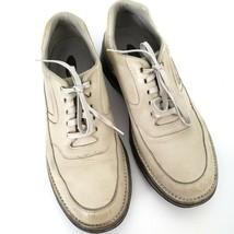 Rockport Mens Prowalker Leather Oxford Shoes 12 N Leather Upper Vibram S... - $44.55