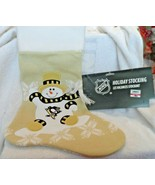 NHL Pittsburgh Penguins Holiday stocking from SC Sports - $22.00