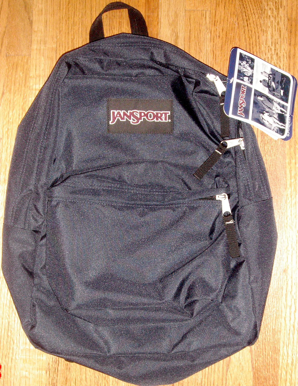 Primary image for JanSport Superbreak Backpack ~ Navy ~ NWT